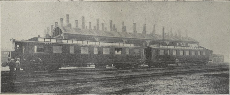 7 – le « train  radiologique » de la Compagnie du Nord (1930). Doc. Revue générale des chemins de fer, janvier 1931 (AHICF).