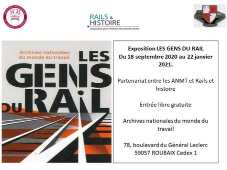 Conférences autour de l'exposition LES GENS DU RAIL