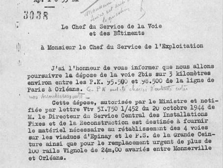 La dépose des voies ferrées pendant la Seconde Guerre mondiale (3e et dernière partie)