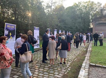 Inauguration de l'exposition Ombres & Lumière