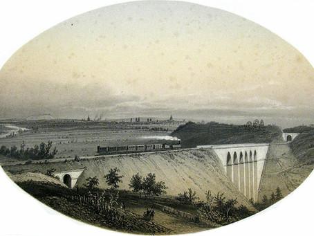 Les premiers chemins de fer en France à travers des illustrations d'époque