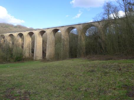 Un tunnel, un viaduc. Petite ballade ferroviaire en Essonne