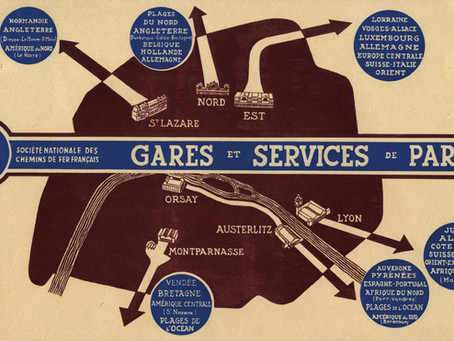 SNCF. Vade-mecum des gares parisiennes en 1938