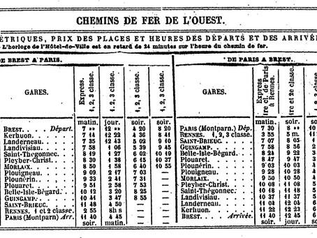 La Bretagne à l'heure du train (1857-1891)