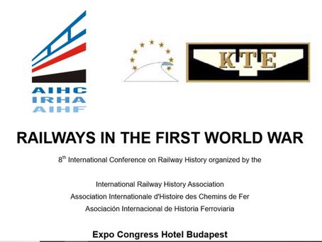 Colloque: Chemins de fer pendant la Première Guerre mondiale