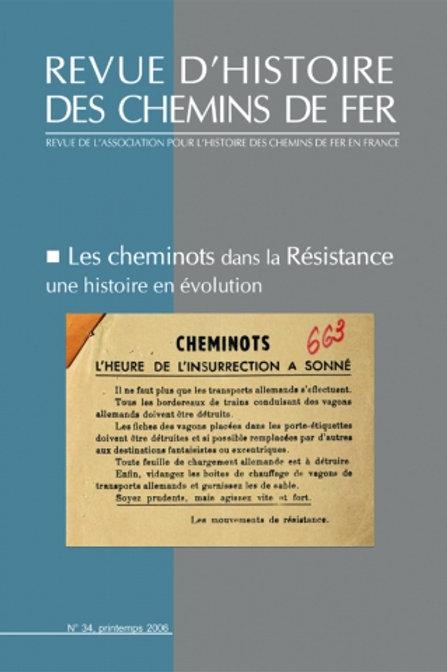 RHCF N°34 : les cheminots dans la résistance