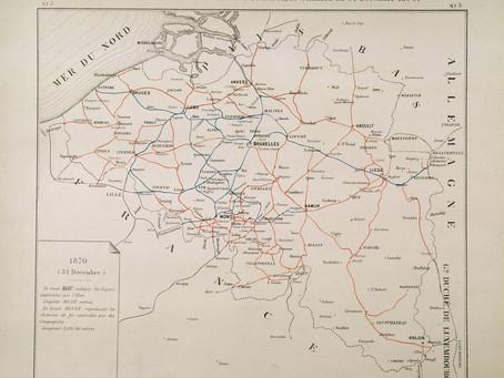 175 ans de chemins de fer en Belgique
