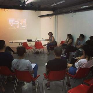 Charla sobre Mercado del Arte en Panal 361 a cargo de María Lightowler - 2019
