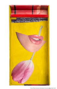 Caja 6. Serie Cajas, 2010 [Box 6 from Box Series] Técnica mixta sobre madera [Mixed media on wood] 30 x 15 cm [12 x 5.9 in]