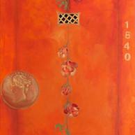 Coral and a half penny, 2014 Óleo sobre tela. 80 x 60 cm