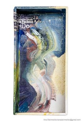 Caja 7. Serie Cajas, 2010 [Box 7 from Box Series] Técnica mixta sobre madera [Mixed media on wood] 16 x 8 cm [6.3 x 3.1 in]