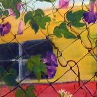 Tren. Antes que se vaya 1. 1999. Óleo sobre lienzo. 50 x 70 cm