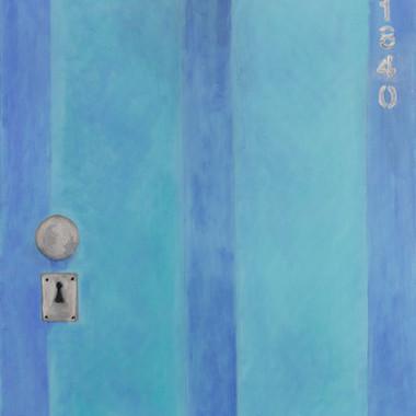 Puerta Celeste. 2014. Óleo sobre lienzo. 80x60