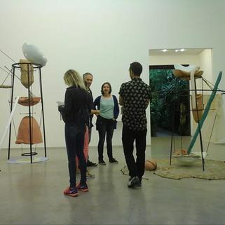 Visita a la Bienal de Sao Paulo, Brasil. 2014