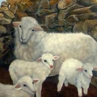 Les presento a mi familia. 1999. Óleo sobre lienzo. 80 x 80 cm