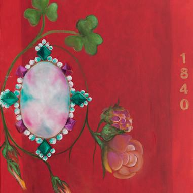 Rojo camafeo, 2014 Óleo sobre tela. 80 x 60 cm