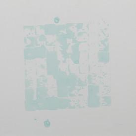 Acomodando cajones C. Serie Reconstruyendo, 2015 [Accommodating drawers C from Rebuilding Series] Tinta al alcohol sobre papel [Alcohol ink on paper] 33 x 33 cm [13 x 13 in]