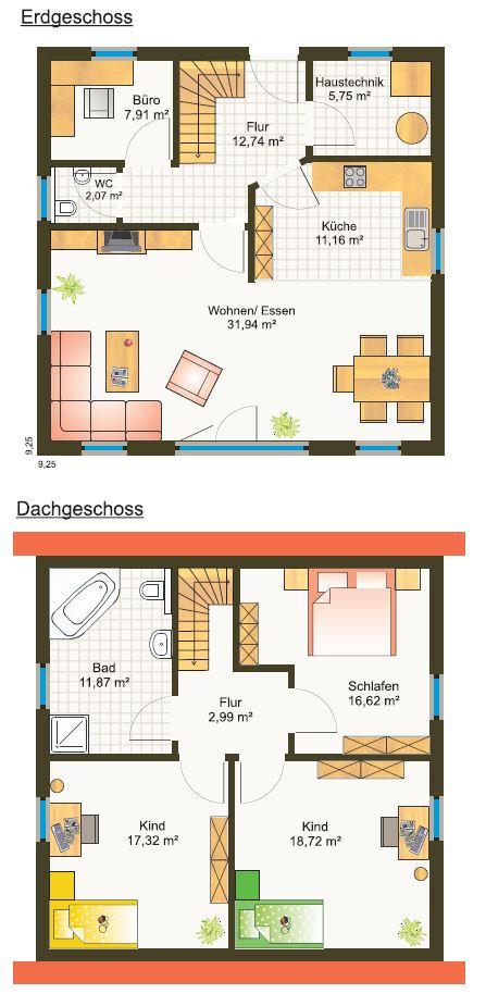 Fertighaus Grundrisse Einfamilienhaus Bayern Preis