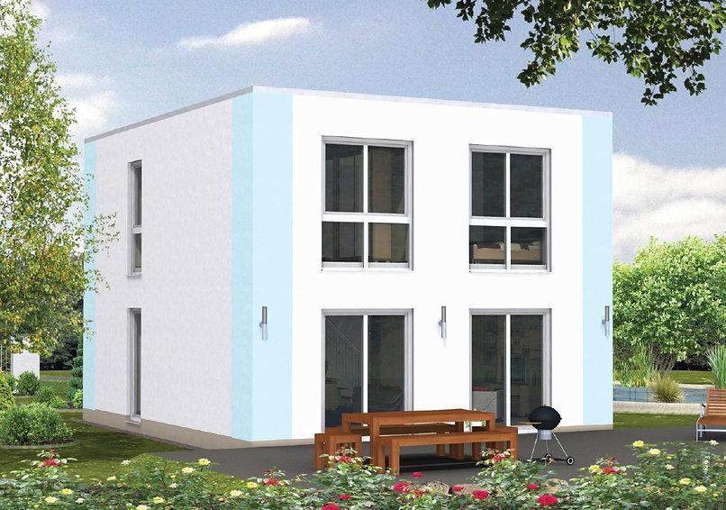 modernes Cubushaus Fertighaus Bayern Preis