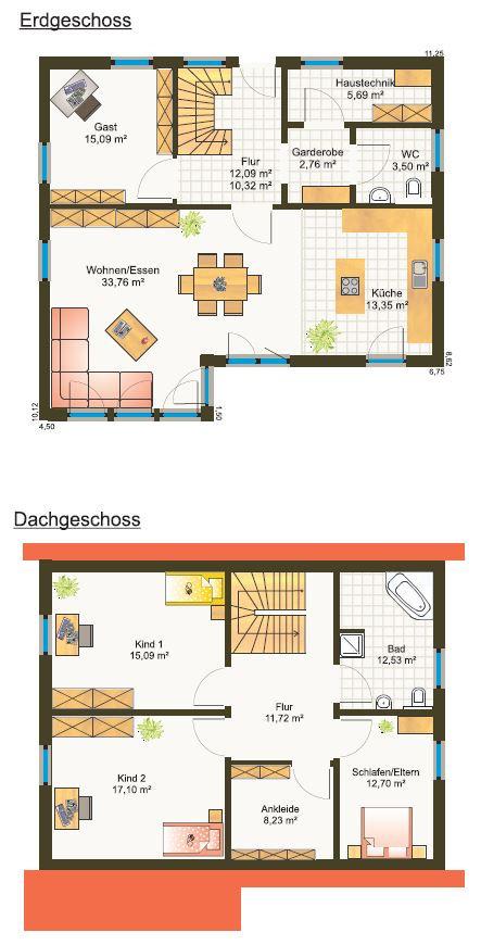 Fertighaus Einfamilienhaus Grundriss Bayern Preis