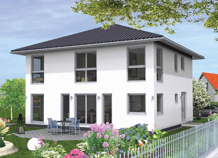 Stadtvilla Zeltdach Walmdach Fertighaus Bayern Preise