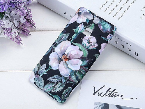 Luminous Floral Pattern TPU Smartphone Covers LMT-PH-486Y/ P9PLUS TPU