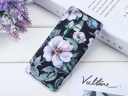 Luminous Floral Pattern TPU Smartphone Covers LMT-PH-486Y/ P9PLUS TPU