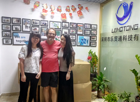 Welcome Andrea team visit LeMoTong