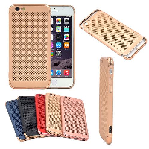 Anti-Fingerprint Shockproof Heat Dissipation Breathing Phone Case for i8 / 7 7P
