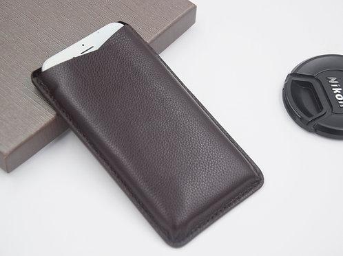 Genuine Leather Tab Phone Case