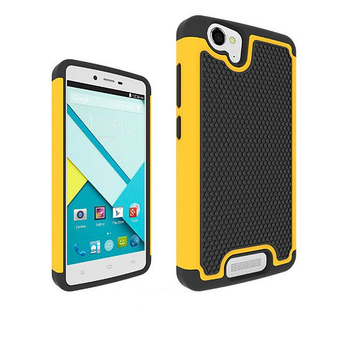 Soccer grain 2in1 hybrid phone case Heavy Duty Dual Layer cover case  LMT-PH-376