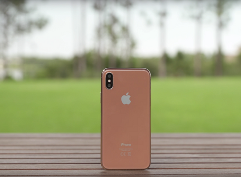 Best look at the upcoming copper bronze iPhone 8