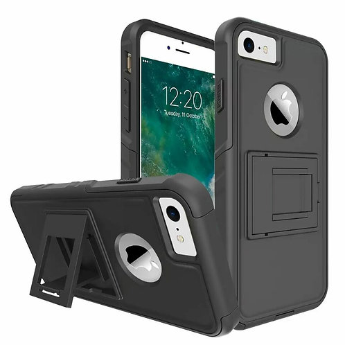 Newest hybrid PC armor kickstand mobile phone case LMT-PH-
