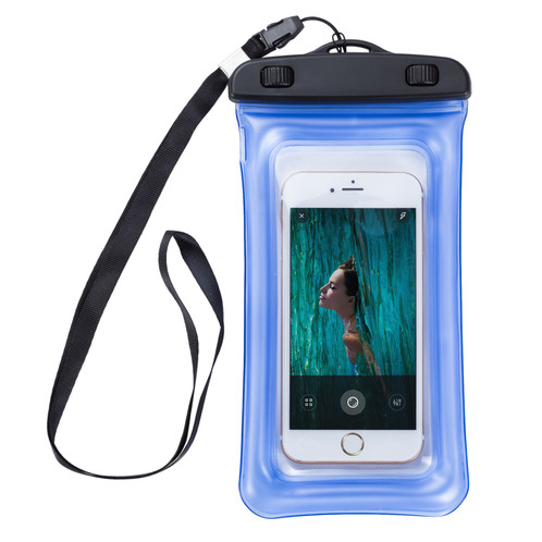 sale retailer 5cdd8 428fc Waterproof Phone Case - IP68 Dual Protect Cell Phone Bag Pouch LMT-PH-377