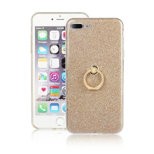 TPU glitter ring case mobile phone case  Clear Bumper Protective case LMT-PH-044