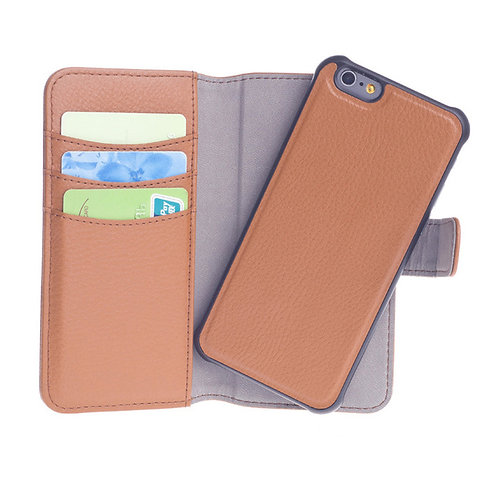 Leather Folio Flip Case Cover Magnetic Stand Function with Card slots LMT-PH-284