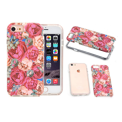 Luxury Water Transfer 2in1 Hybird TPU PC Cell Phone Case LMT-PH-660