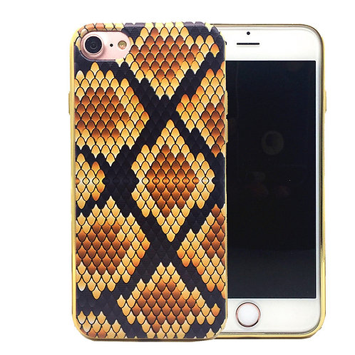 Snakeskin Grain Printed TPU Mobile Phone Case for iphone 7 LMT-PH-035