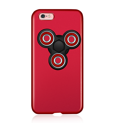 New Coming Hard Protective Phone Case with Fidget Finger Spinner LMT-PH-547
