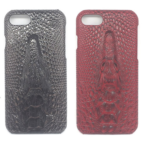 Crocodile vein pu leather mobile phone case LMT-PH-041