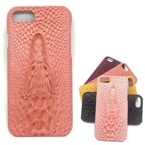3D Crocodile PU Leather Cover Case For iPhone 7 LMT-PH-041