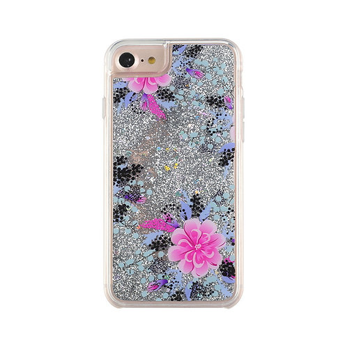Flowing Liquid Phone Case Luxury Bling Glitter Case for iPhone