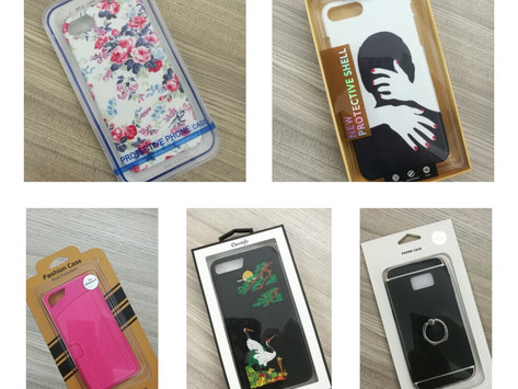 Brand packaging and Mobile phone case