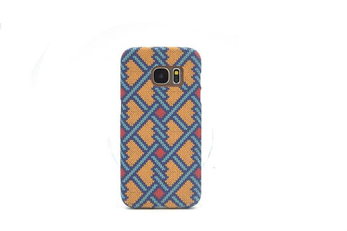 copy of Flexible Soft TPU Phone Case Knit Woven Grain Mobile Back Cover