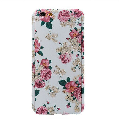 360 Full-Body Water Transfer wildflower pattern printing cover case   LMT-PH-002
