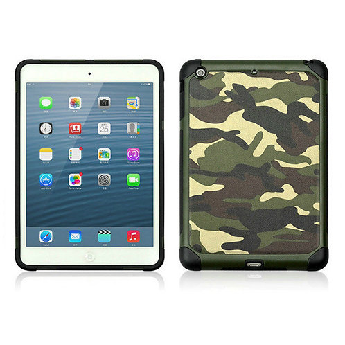 Camouflage leather phone case for iPad Mini 4 LMT-PH-011