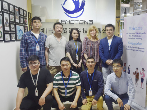 Customer visit - USA customers are welcome to visit LeMoTong for business negotiation