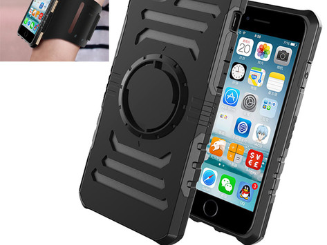 Sweetproof Arm strap Heavy Duty Armor Cell Phone Case for iphone 7