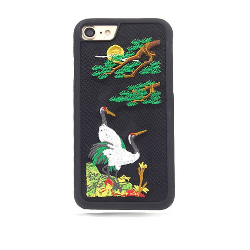 Embroidery Mobile Phone Cover Case LMT-PH-454