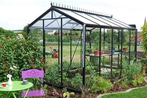 Seră de grădină cu pereții drepți - Gama STANDARD 15,47m²